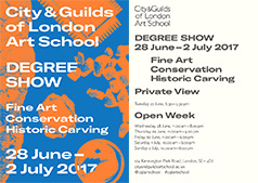City & Guilds of London Art School DEGREE SHOW